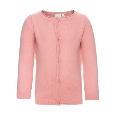 name it Girls Strickjacke Vamina rose tan