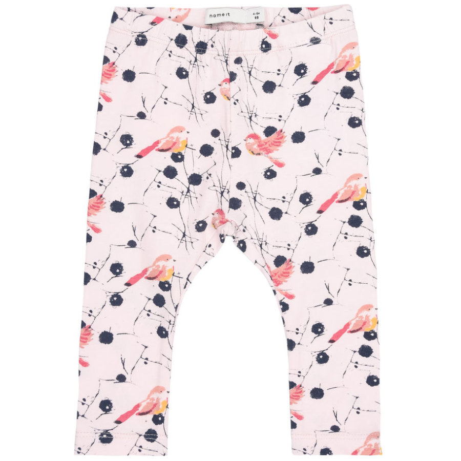 name it Girl s Leggingsdomeinen Domas roze kornoelje