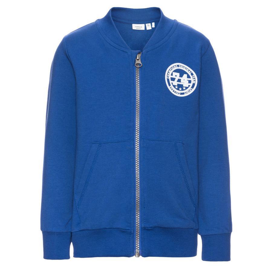name it Boys Sweat Jacket Dimon mazarine blue
