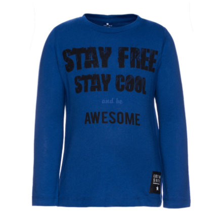 name it Girls Longsleeve Dex mazarine blue