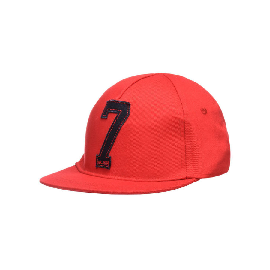 name it Boys Cappello Benny aurora rosso