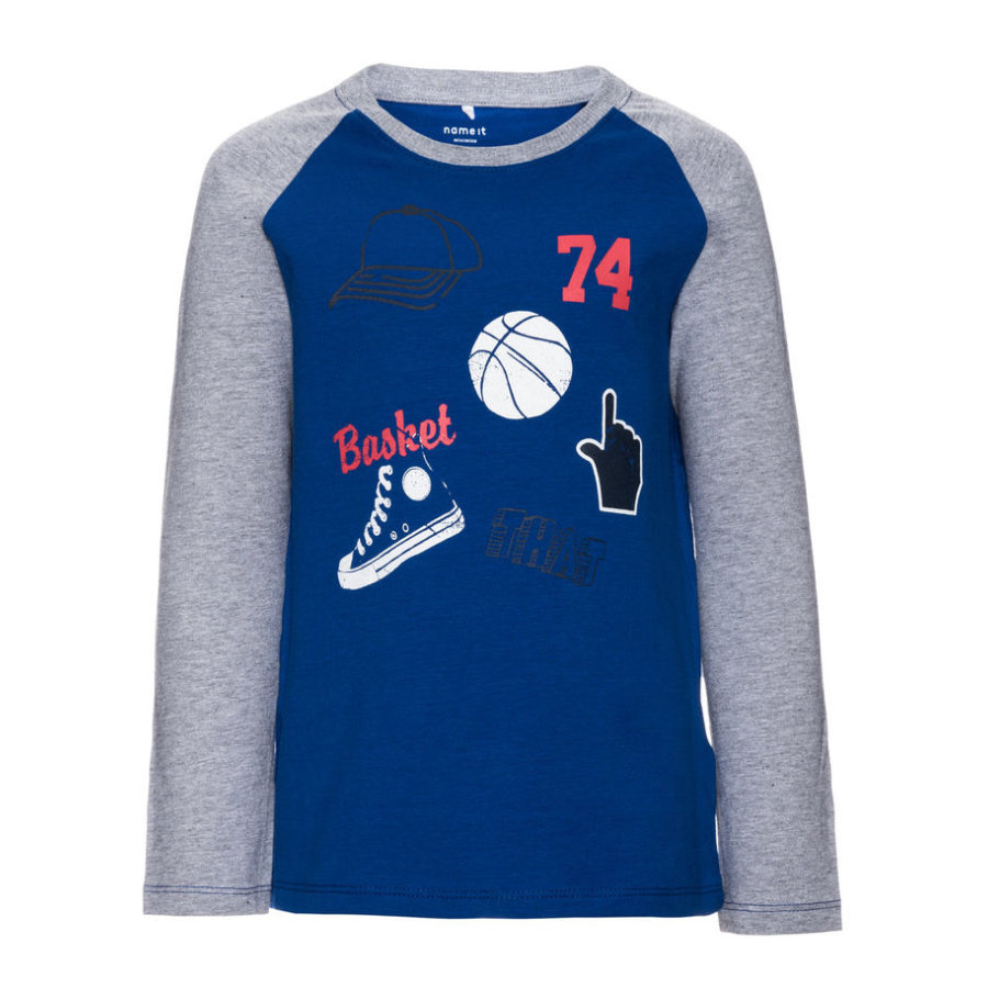name it Boys Longsleeve Janis mazarine blue