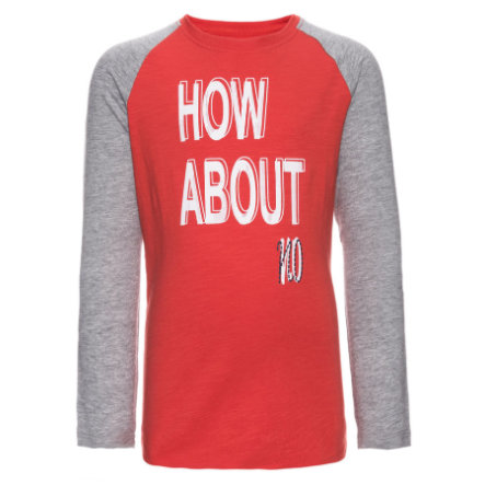 name it Boys Longsleeve Jusk aurora red