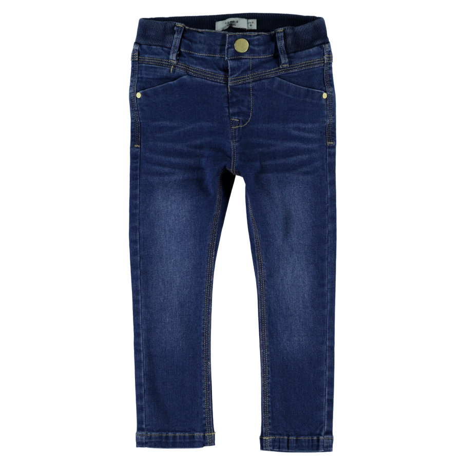 name it Boys Titte Spodnie medium blue denim