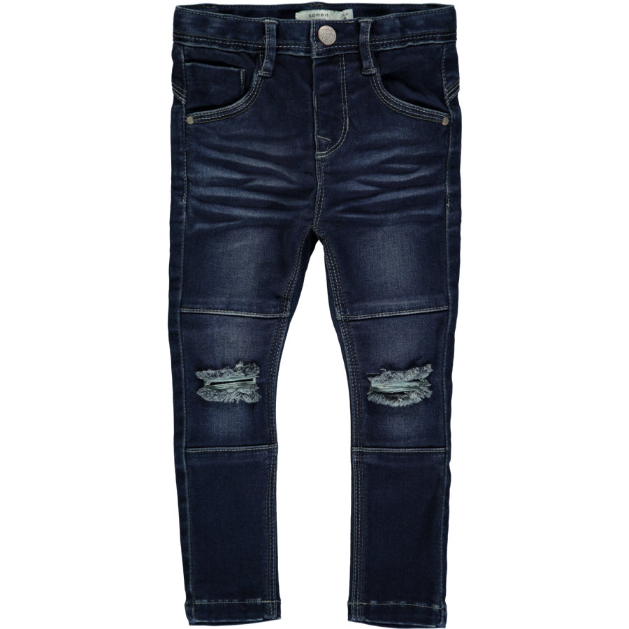 name it Boys Spodnie Jeans Tammy light blue denim