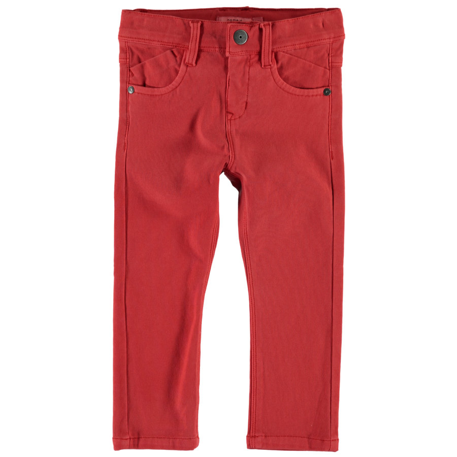 name it Boys Jeans Jon Jon aurora rouge