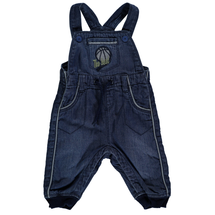 name it Boys Jeans Dungarees Bastian bleu moyen en denim