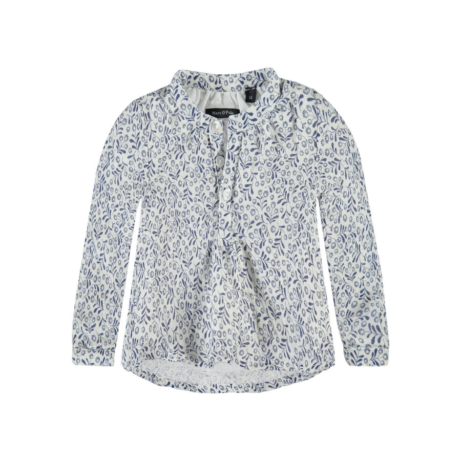 Marc O'Polo Girls Bluse flowers white