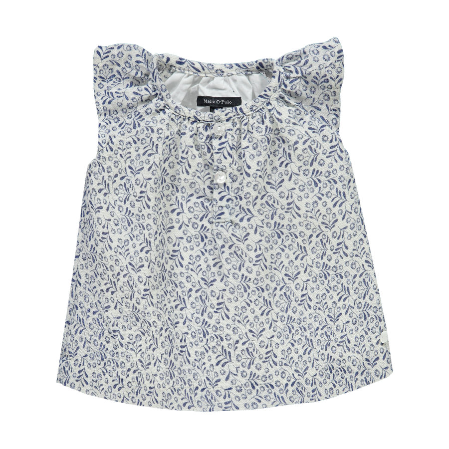 Marc O'Polo Girls Kjole flowers white