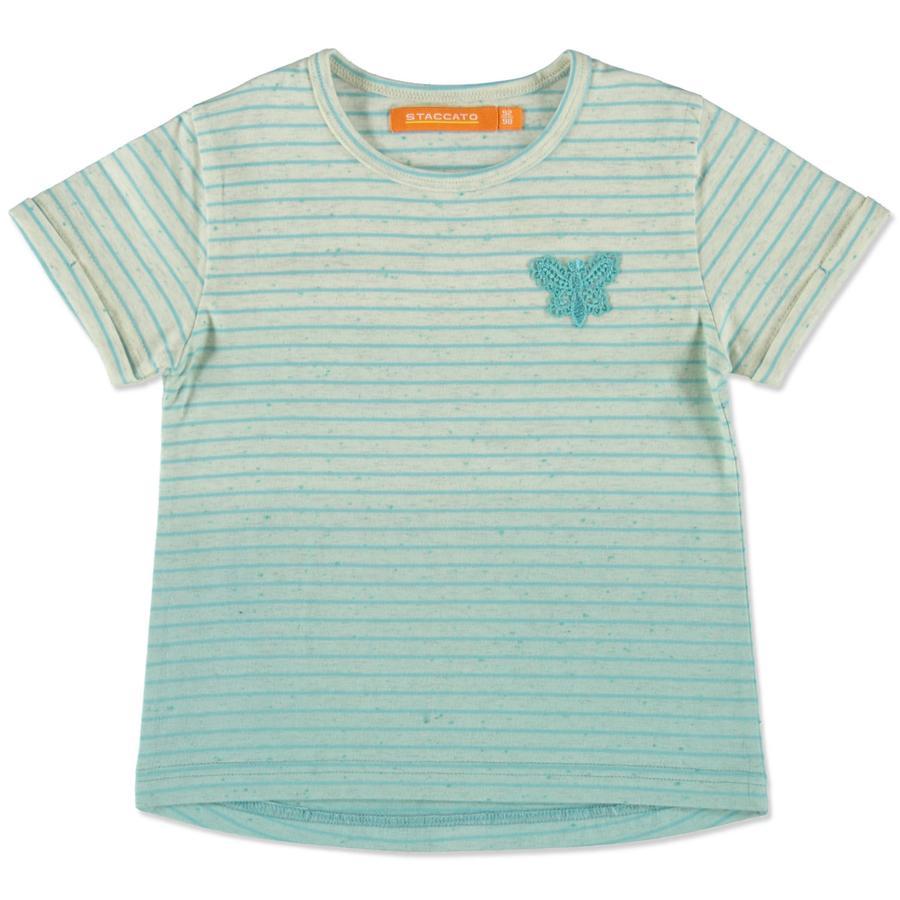 STACCATO Girl s franja de T-Shirt piscina