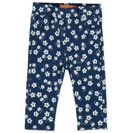 STACCATO Girl s Jeggings jeans spijkerbroek blauwe bloemen
