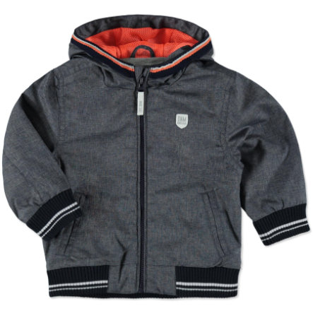 STACCATO Boys Jacke grey blue structure
