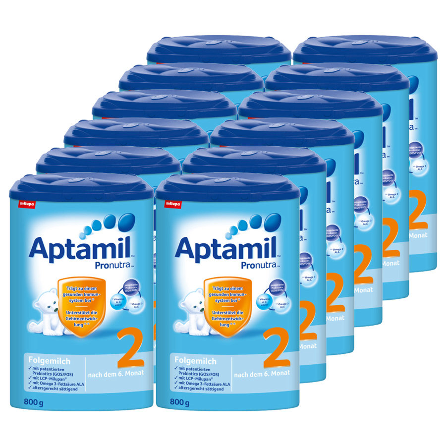 Aptamil 2 Follow-on Formula Pronutra 12 x 800g