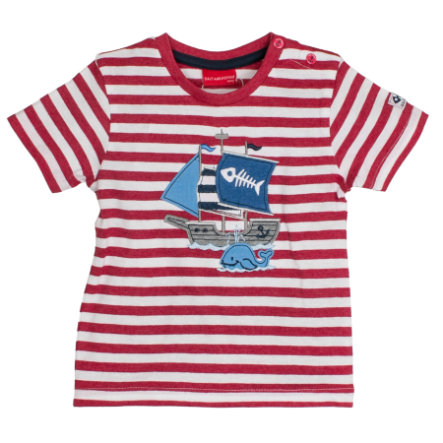 SALT AND PEPPER Boys T-Shirt Ringel red melange
