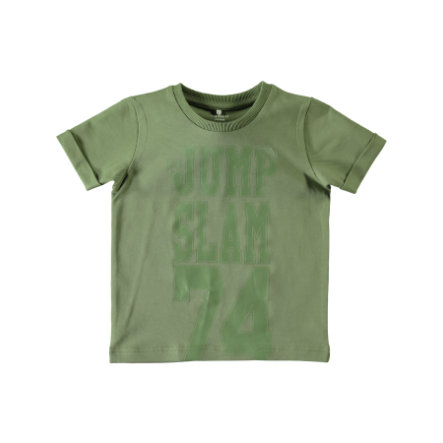name it Boys T-Shirt Jakob oil green