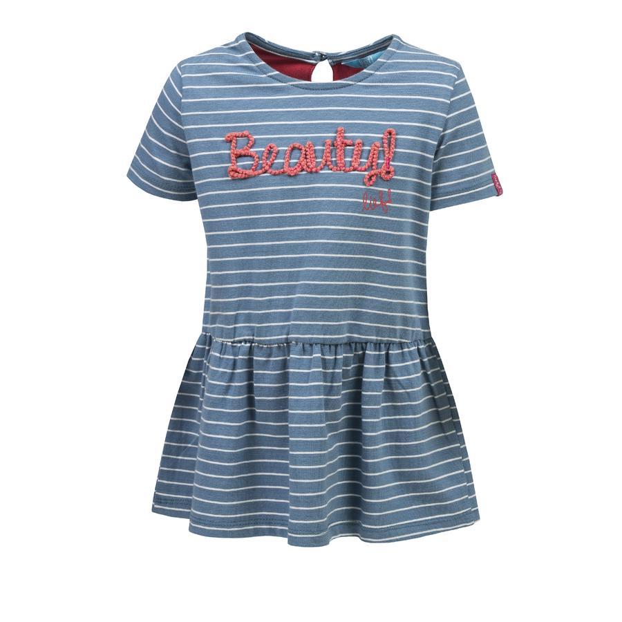 rende! Girl De jurk is blauw.