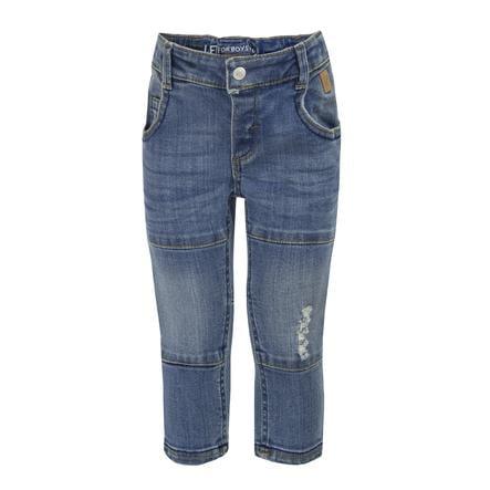běžel! Chlapecké džíny modrá džínovina