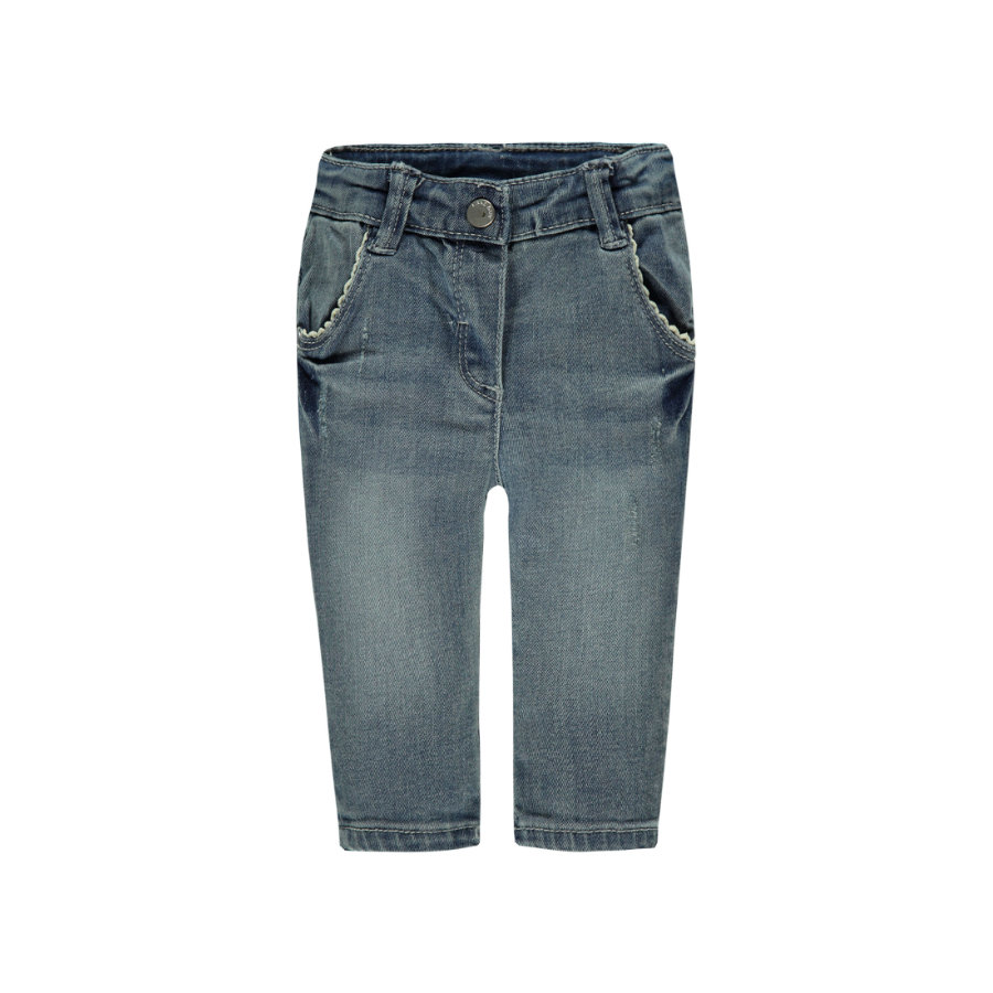 KANZ Girls Jeanshose washed blue denim
