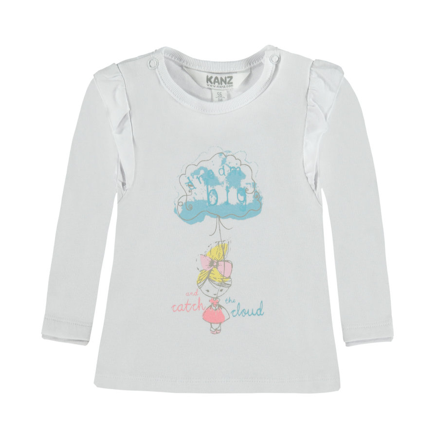 KANZ Girls Longsleeve bright white