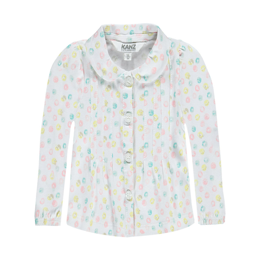 KANZ Girl s blouse bloemen allover