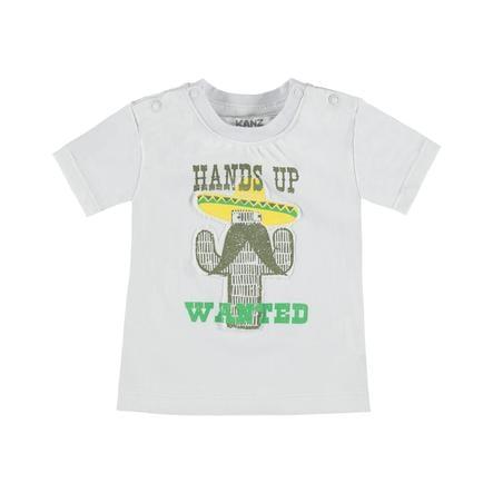 KANZ Boys T-Shirt blanco brillante