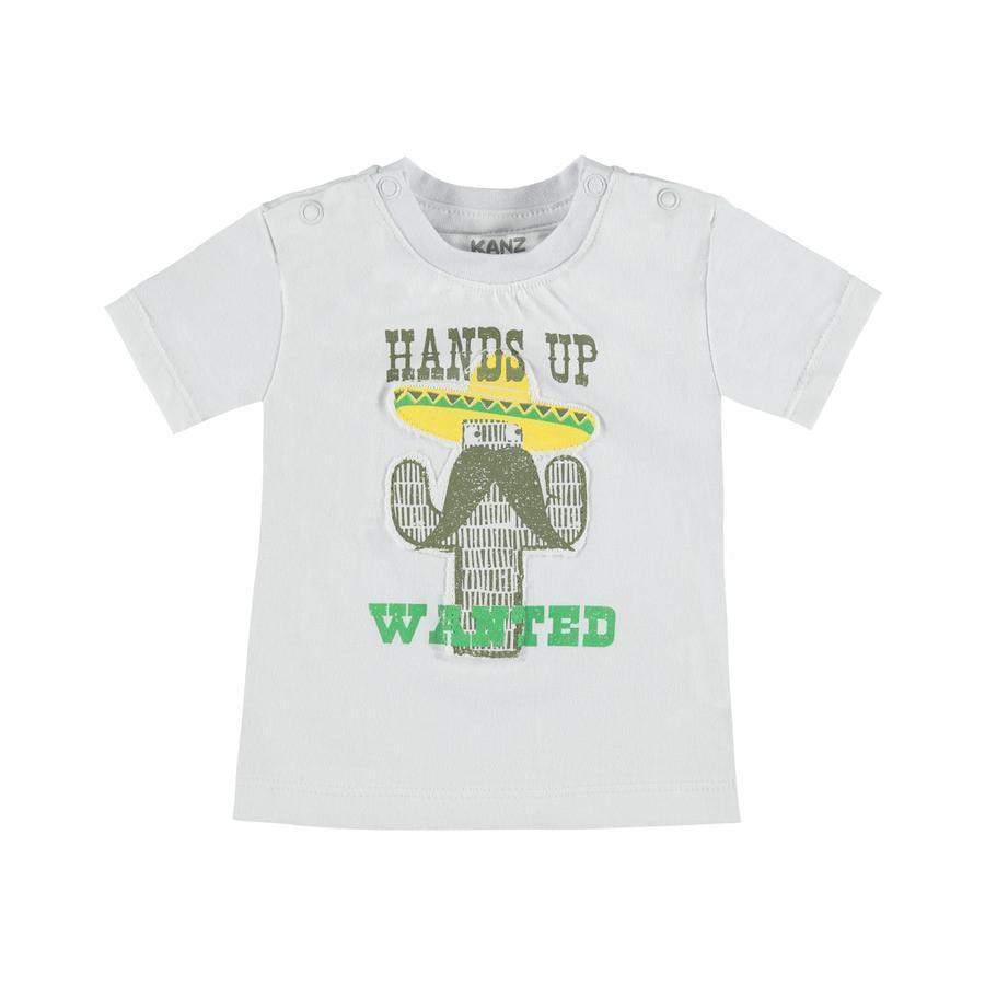 KANZ Boys T-Shirt bianco brillante