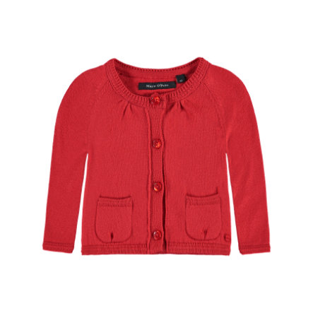Marc O'Polo Girls Strickjacke tomato red