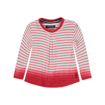 Marc O'Polo Girl 's Ringel manches longues rouge tomate