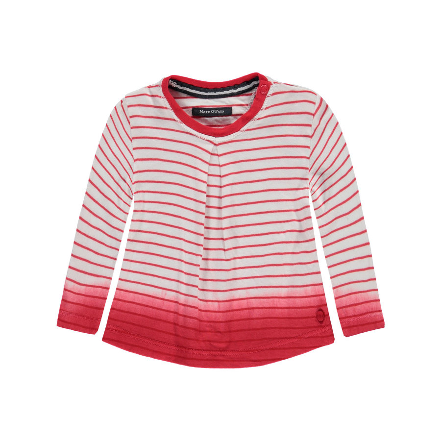 Marc O'Polo Girls Longsleeve Ringel tomato red