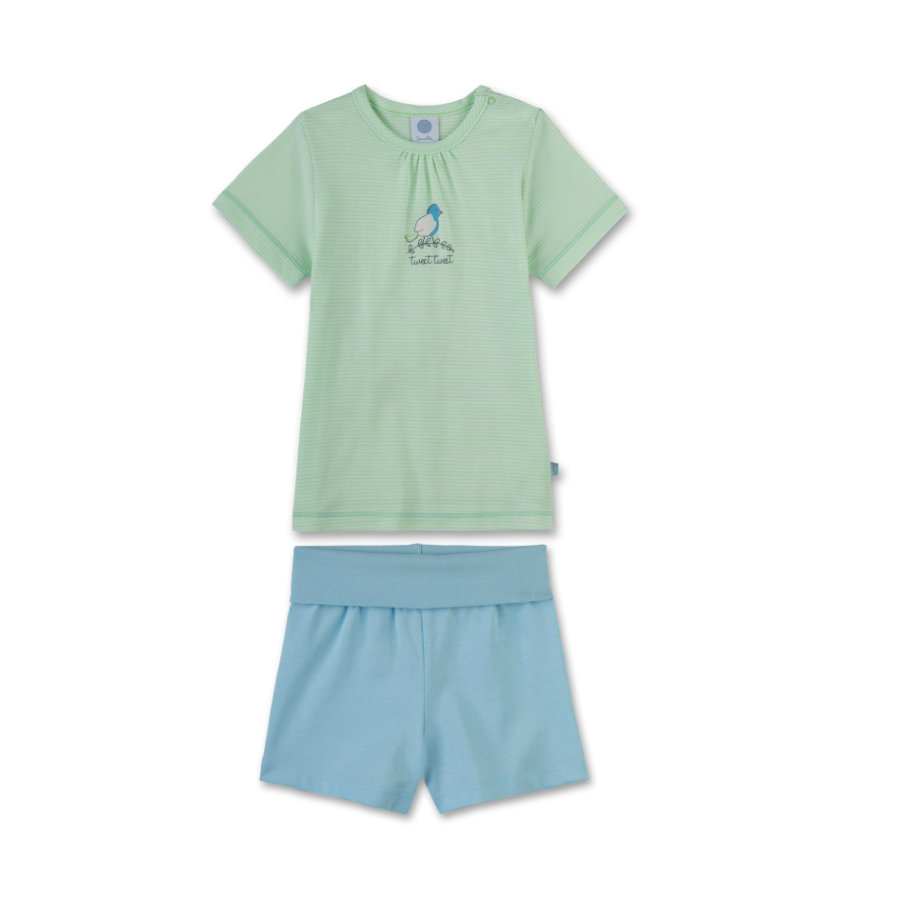 Sanetta Girl s Shorty 2 piezas verde