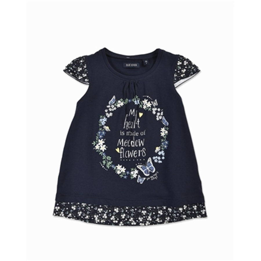 BLUE SEVEN Girls Top blau Flower