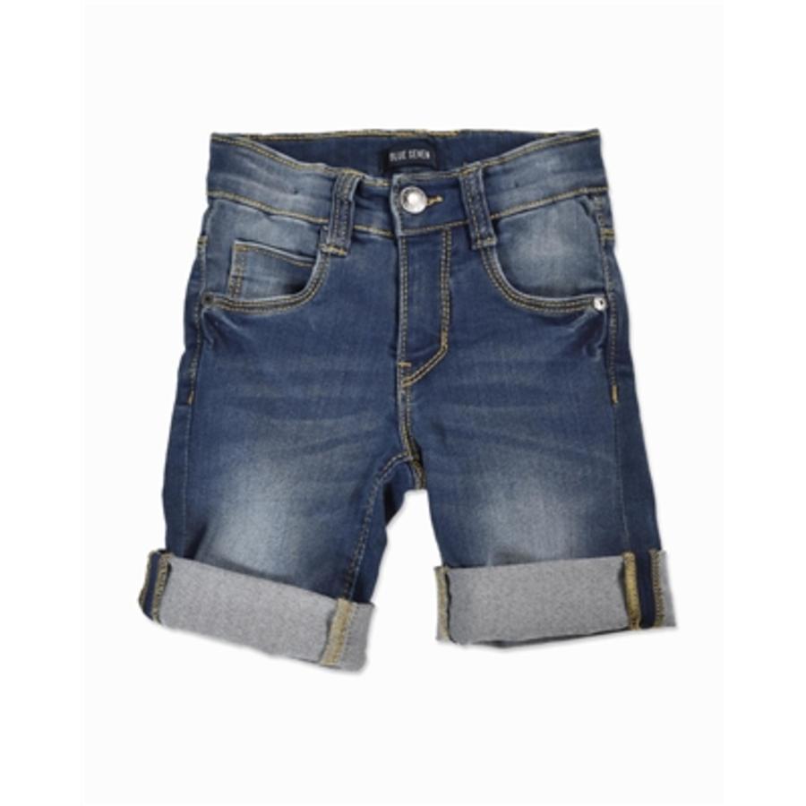 BLUE SEVEN Boys Bermuda jeans donkerblauw