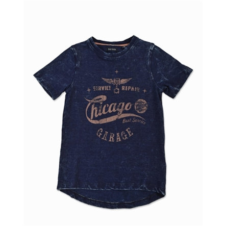 BLUE SEVEN Boys T-Shirt Vintage Chicago blue