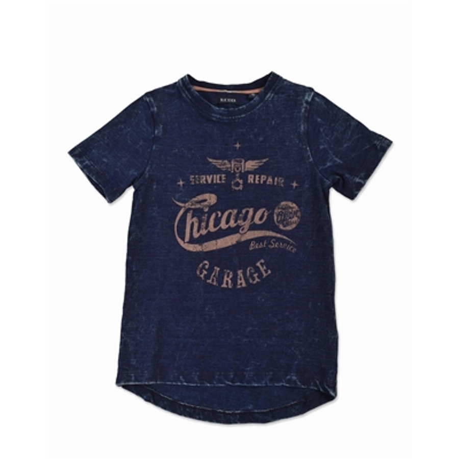 BLUE SEVEN Boys T-Shirt Vintage Chicago blau
