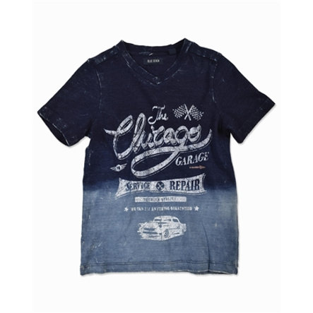 BLUE SEVEN Boys T-Shirt Vintage washed blue