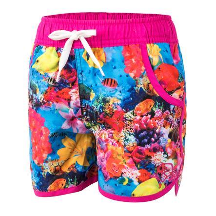 COLOR KIDS Girls Beach Szorty kąpielowe Tove AOP