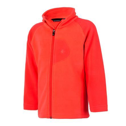 color kids fleece jacka rafting fiery coral 26a72e36eaae0