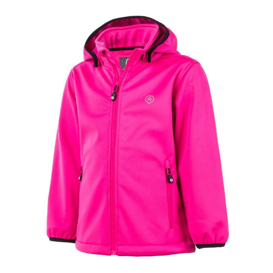 COLOR KIDS Softshelljacke Ralado Peak Pink