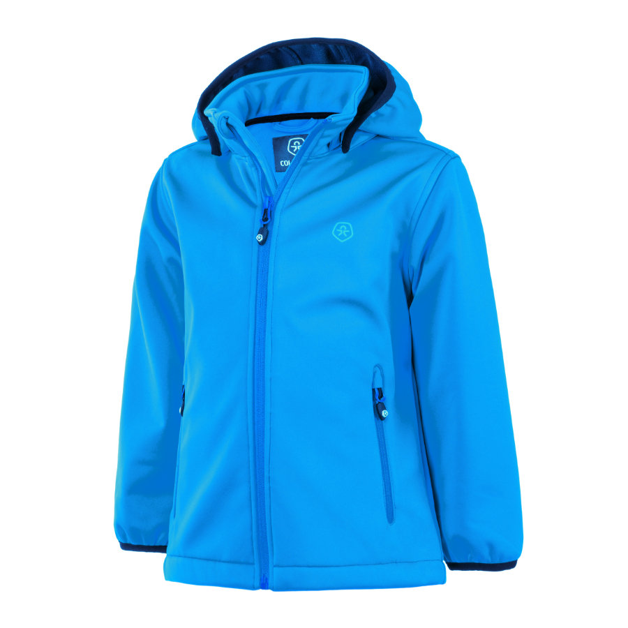 COLOR KIDS Softshelljacke Ralado Diva Blue