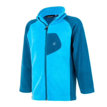 COLOR KIDS Fleece Wendejacke Rafting Moroccan Blue