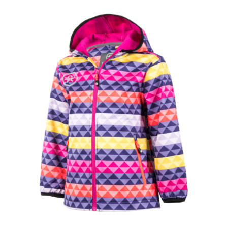COLOR KIDS Softshelljacke Tadimir Deep Wisteria