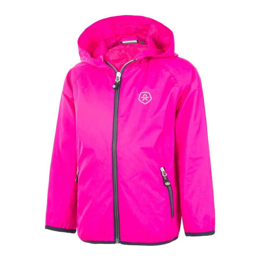 COLOR KIDS Regenjacke Villom Pink Glow