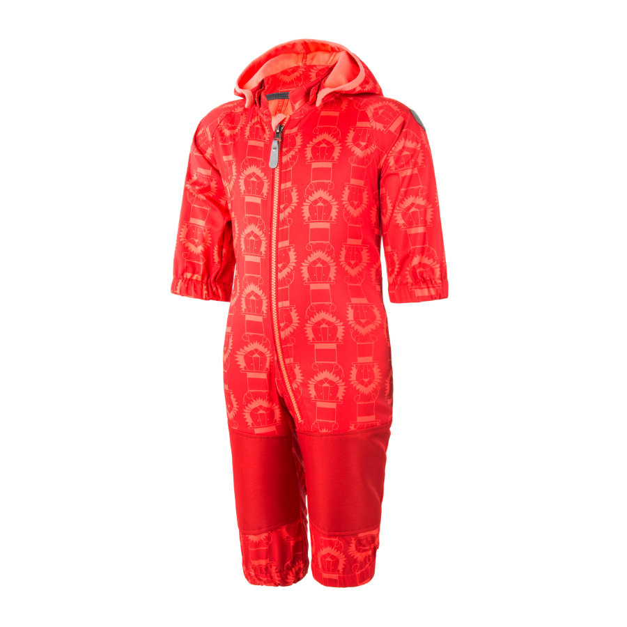 COLOR KIDS Softshell Overall Tajo Racing Red