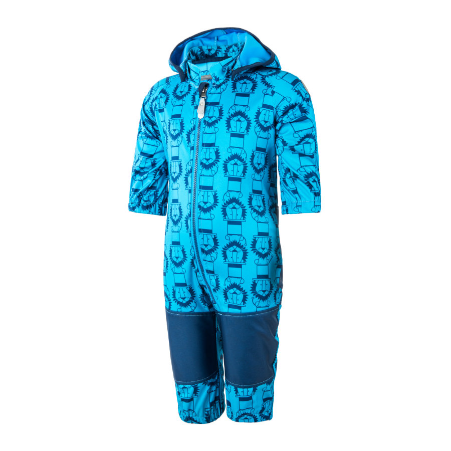 COLOR KIDS Softshelloverall Tajo Diva Blue