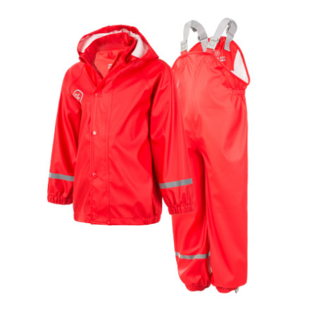 COLOR KIDS Regn-set Taxi Racing Red