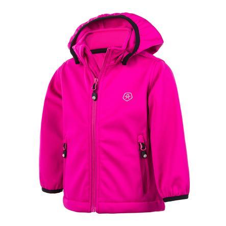 COLOR KIDS  Soft shelljacket Trimble Peak Pink