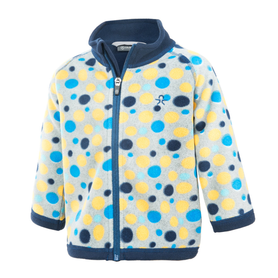 COLOR KIDS Fleece-Wendejacke Tugo Estate Blue