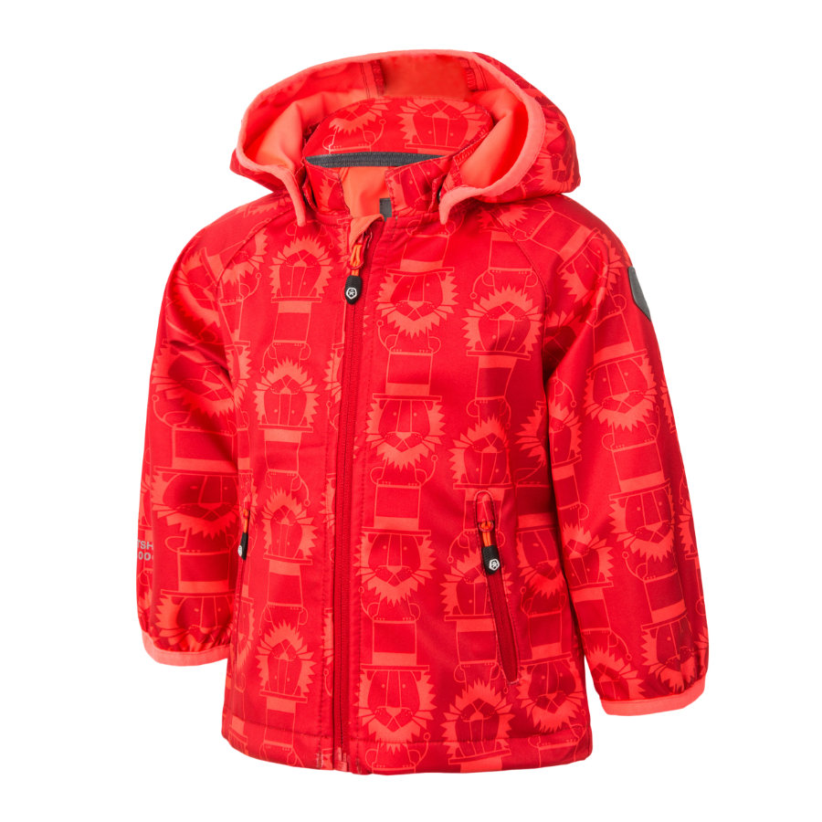 COLOR KIDS Softshelljacke Veast Racing Red