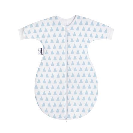 JULIUS ZÖLLNER Jersey Schlafsack mit Arm gefüttert Triangel blue