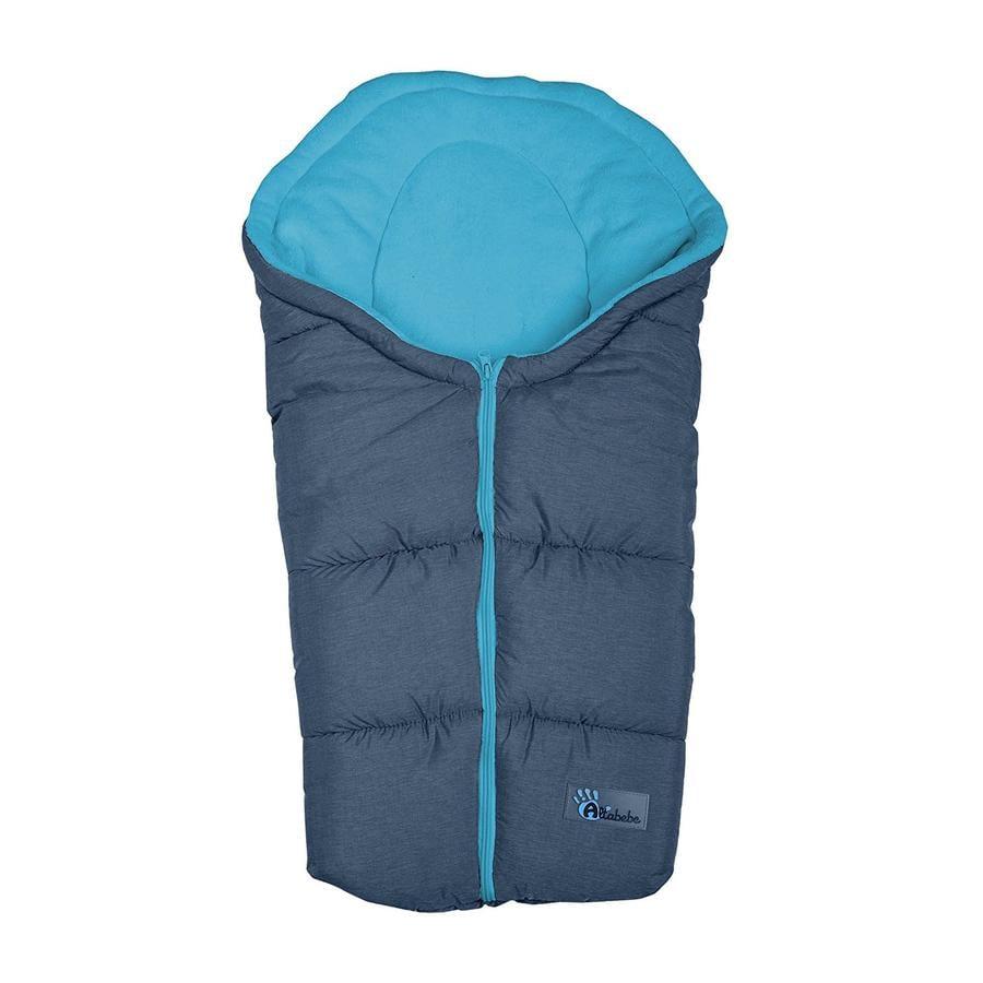 ALTABEBE Winter Footmuff Alpine, for Buggy and Pram dark grey - bleu